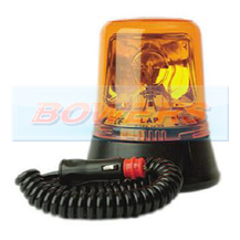 12v/24v Magnetic Rotating Halogen Amber Beacon